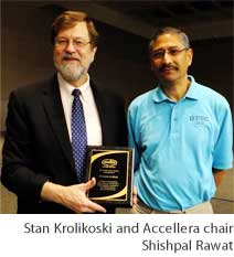 Stan Krolikoski and Accellera chair Shishpal Rawat