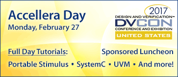 Accellera Day at DVCon U.S. 2017