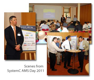 Scenes from SystemC AMS Day 2011