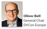 Oliver Bell, General Chair, DVCon Europe 2016